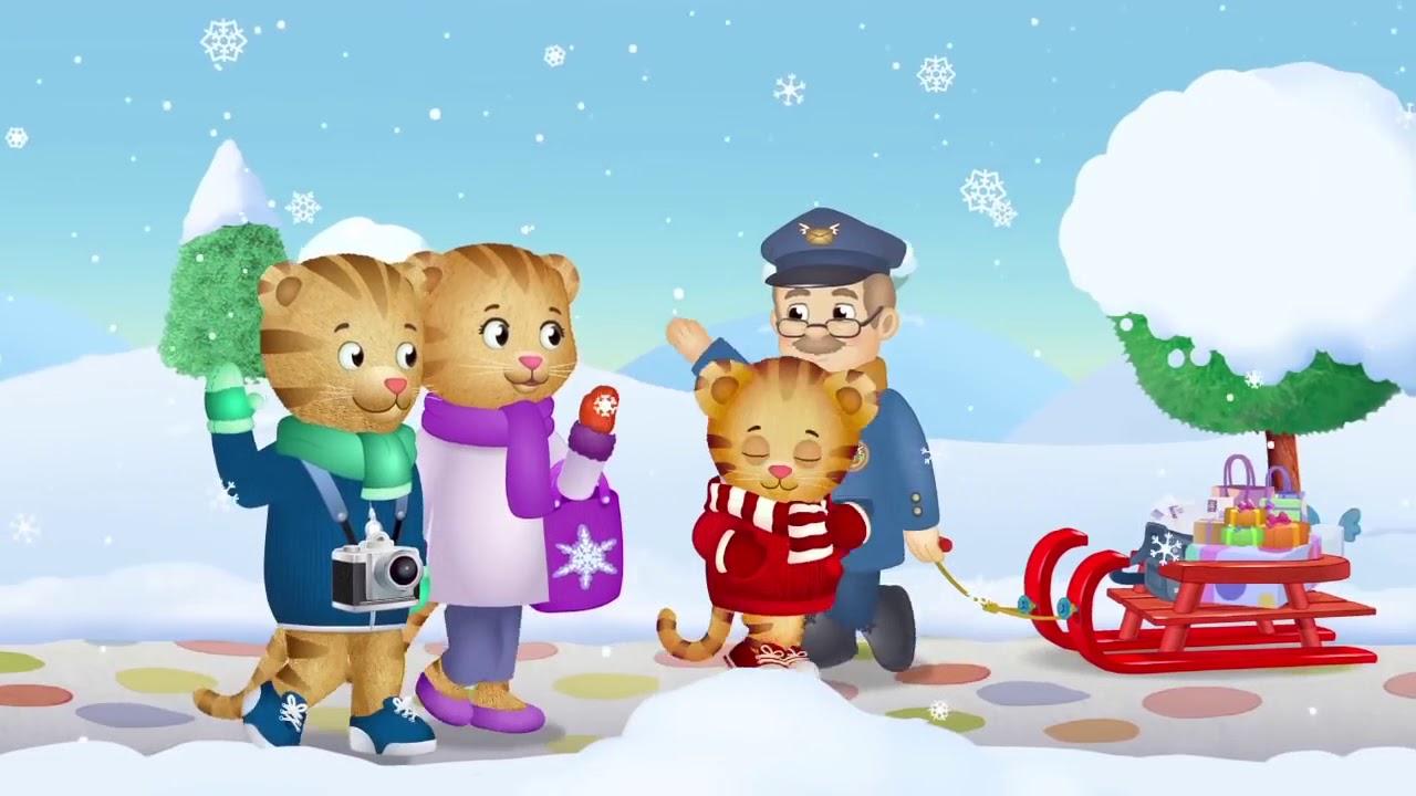 Daniel Tiger's Snowflake Day