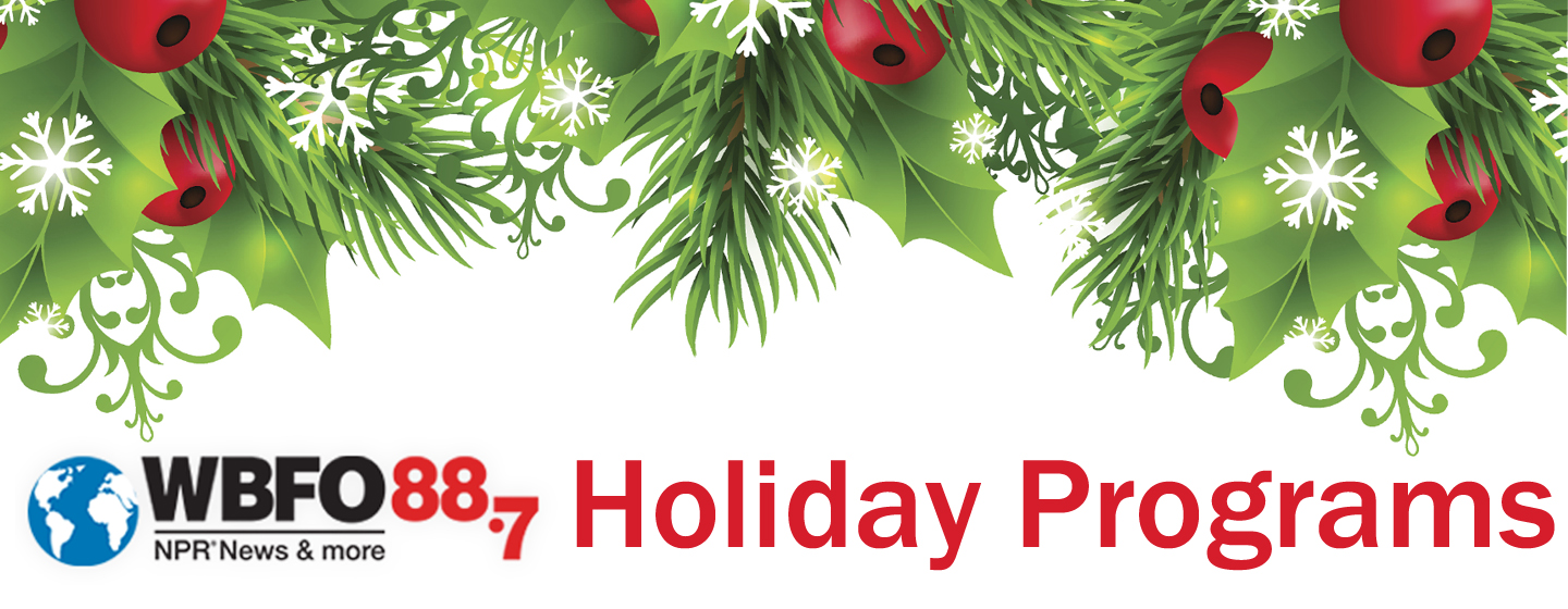 Holiday Programs on WBFO