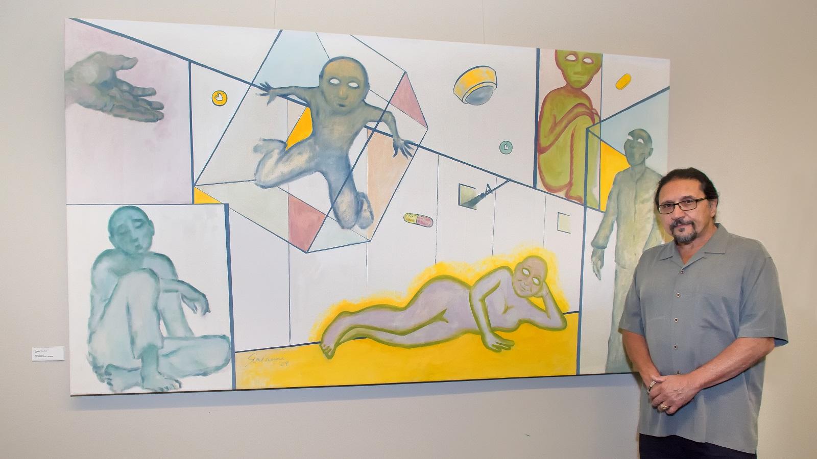 """Fragile Warriors"" by artist and veteran Ralph Sirianni"