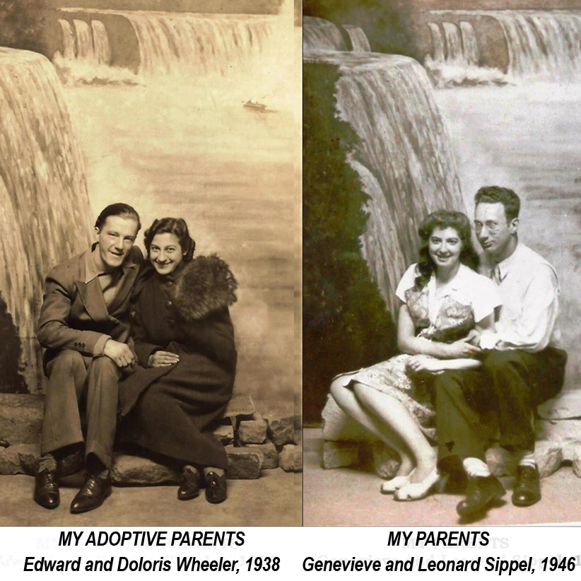Edward and Doloris WHeeler, 1938 Genevieve and Leonard Sipple, 1946