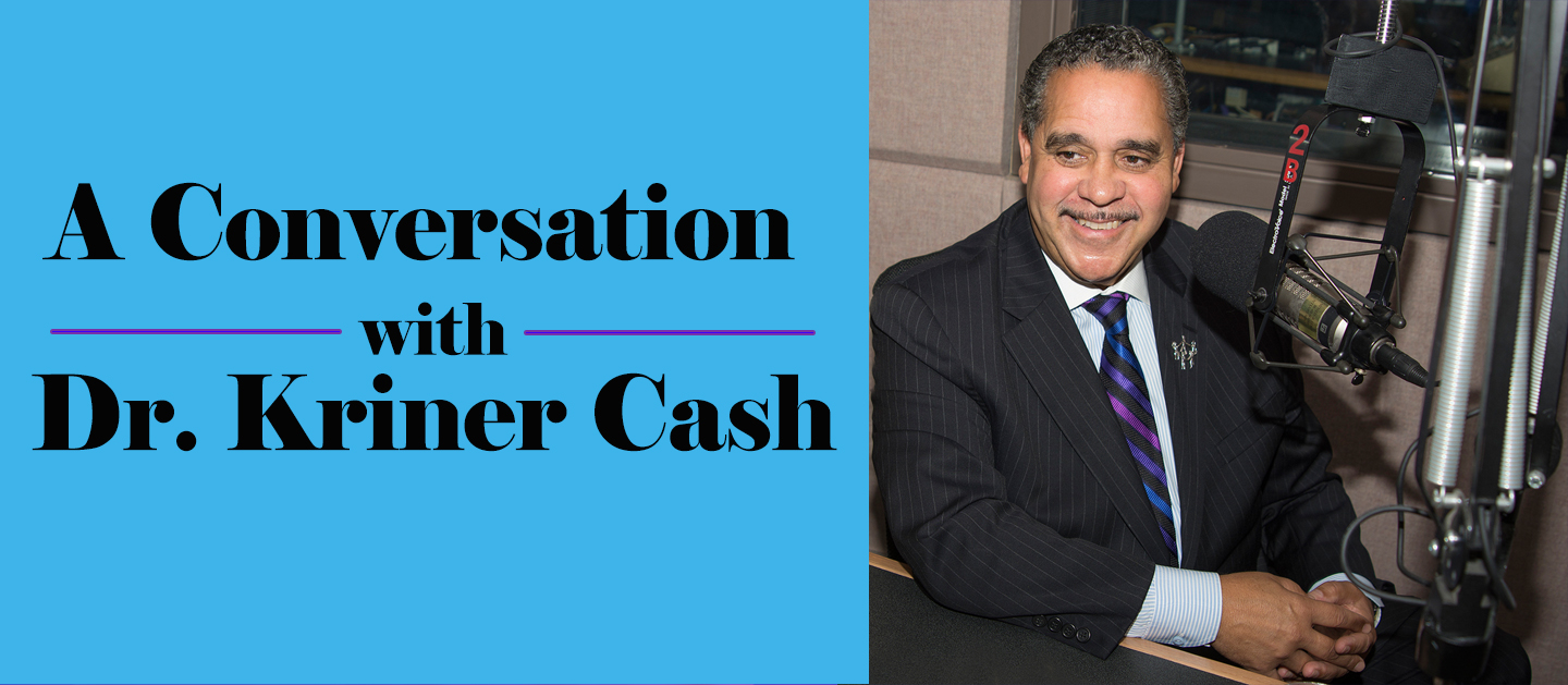 A Conversation with Dr. Kriner Cash | Wed., May 24th
