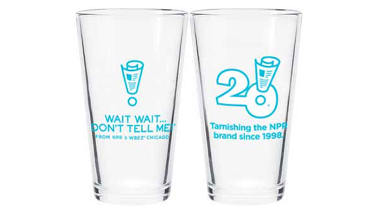 Wait Wait... Don't Tell Me! Pint Glass