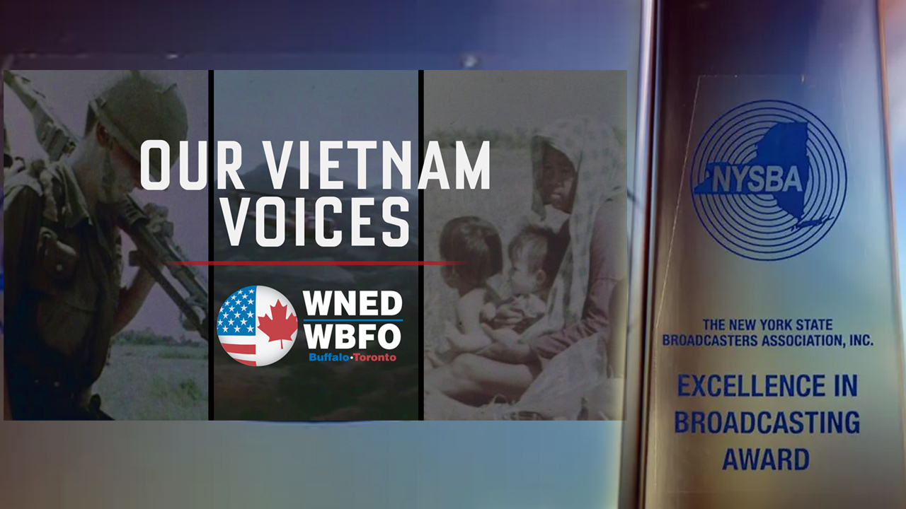 Our Vietnam Voices Wins NYS Broadcasters Association Award