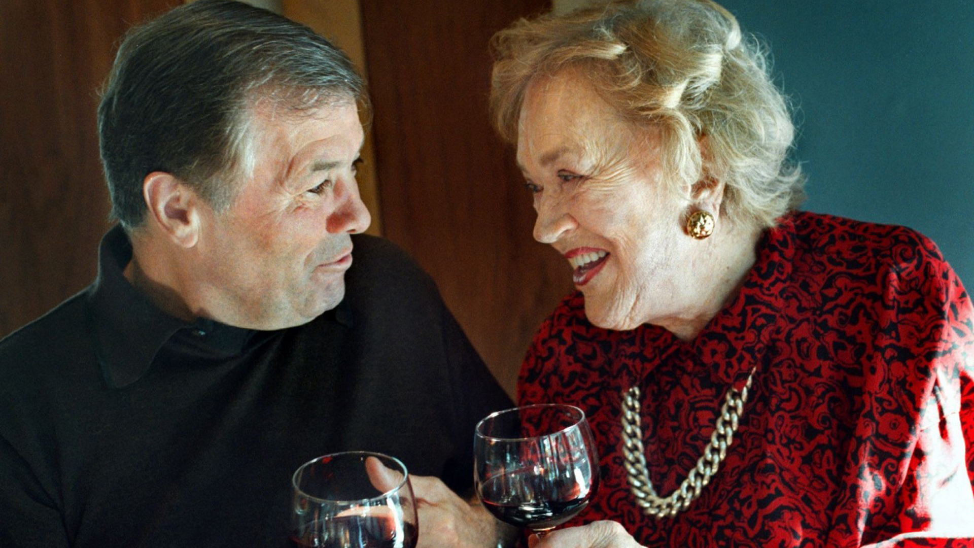 Jacques Pepin and Julia Childs