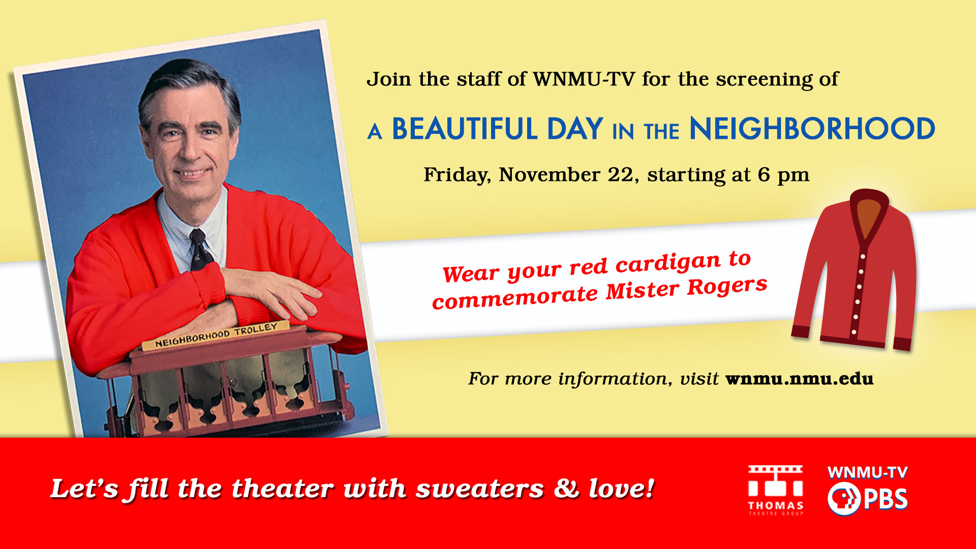 Red Sweater Event 2019