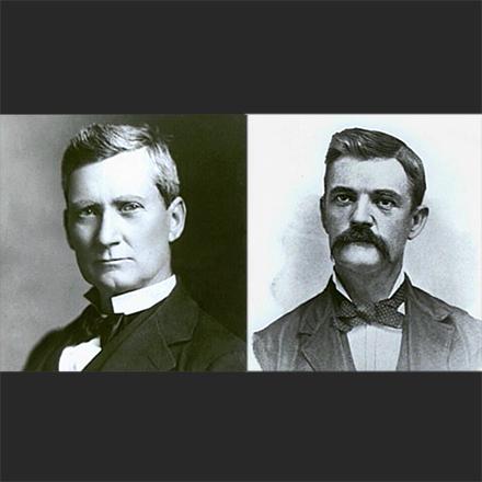 Samuel Jones and Captain Thomas Ryman