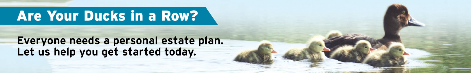 Are Your Ducks in a Row? Planned Giving