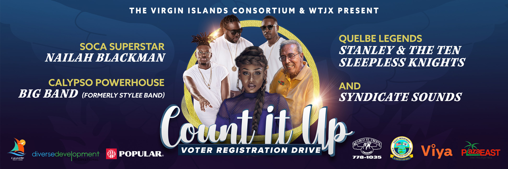 Count It Up Banner
