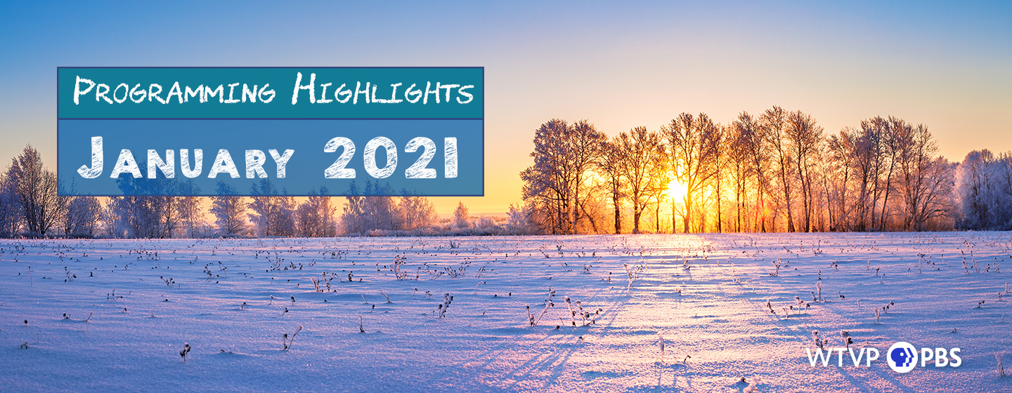 Sunset over a Snow Covered Field - Programming Highlights January 2021