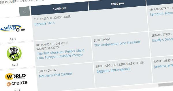 Tv Schedule