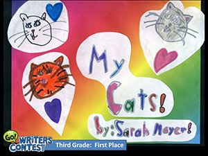 "Third Grade: ""My Cats"""