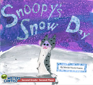 "Second Grade: ""Snoopy's Snow Day"""