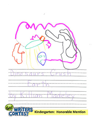 "Kindergarten: ""Dinosaurs Crush Earth"""