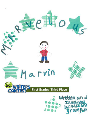 "First Grade: ""Marvelous Marvin"""