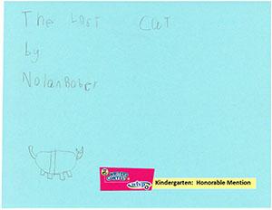"""Kindergarten: """"The Lost Cat"""""""