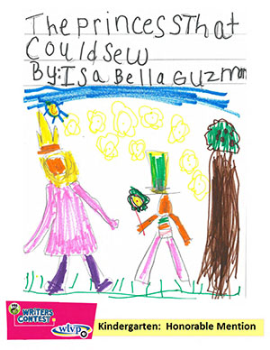 """Kindergarten: """"The Princess that Could Sew"""""""