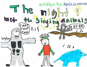 "Second Grade: ""The Night I Met the Singing Animals"""