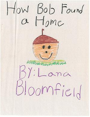 """First Grade: """"How Bob Found a Home"""""""
