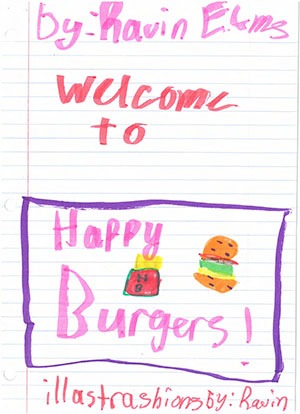 """Third Grade: """"Welcome to Happy Burgers!"""""""