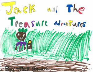 """First Grade: """"Jack and the Treasure Adventures"""""""