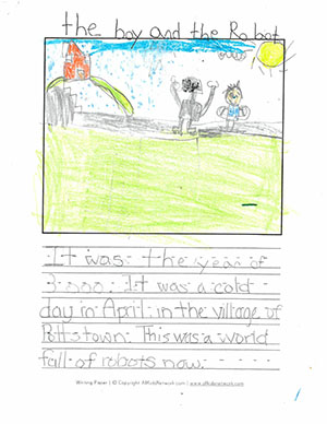"Second Grade: ""The Boy and the Robot"""
