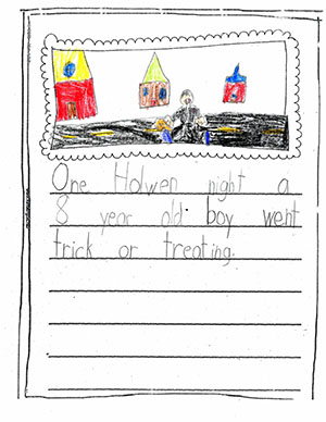 "First Grade: ""Ghost Story"""