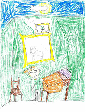 "Third Grade: ""The Painting"""