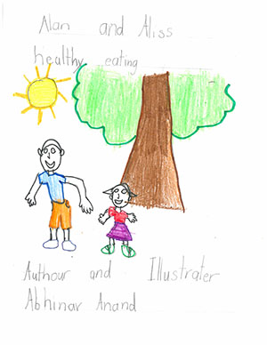 "First Grade: ""Alan and Aliss: Healthy Eating"""