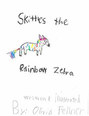 "First Grade: ""Skittles the Rainbow Zebra"""