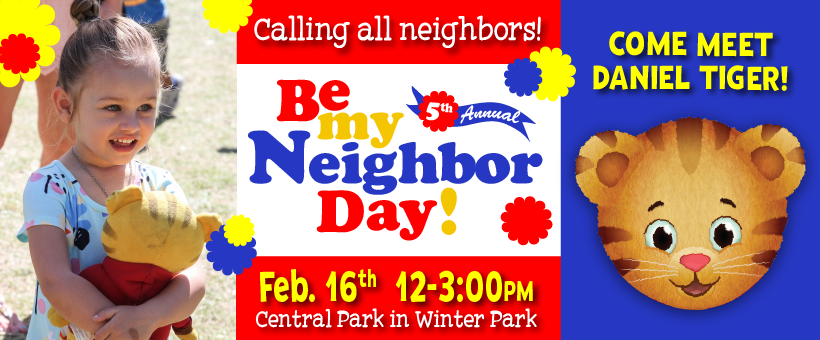 Be My Neighbor Day 2019