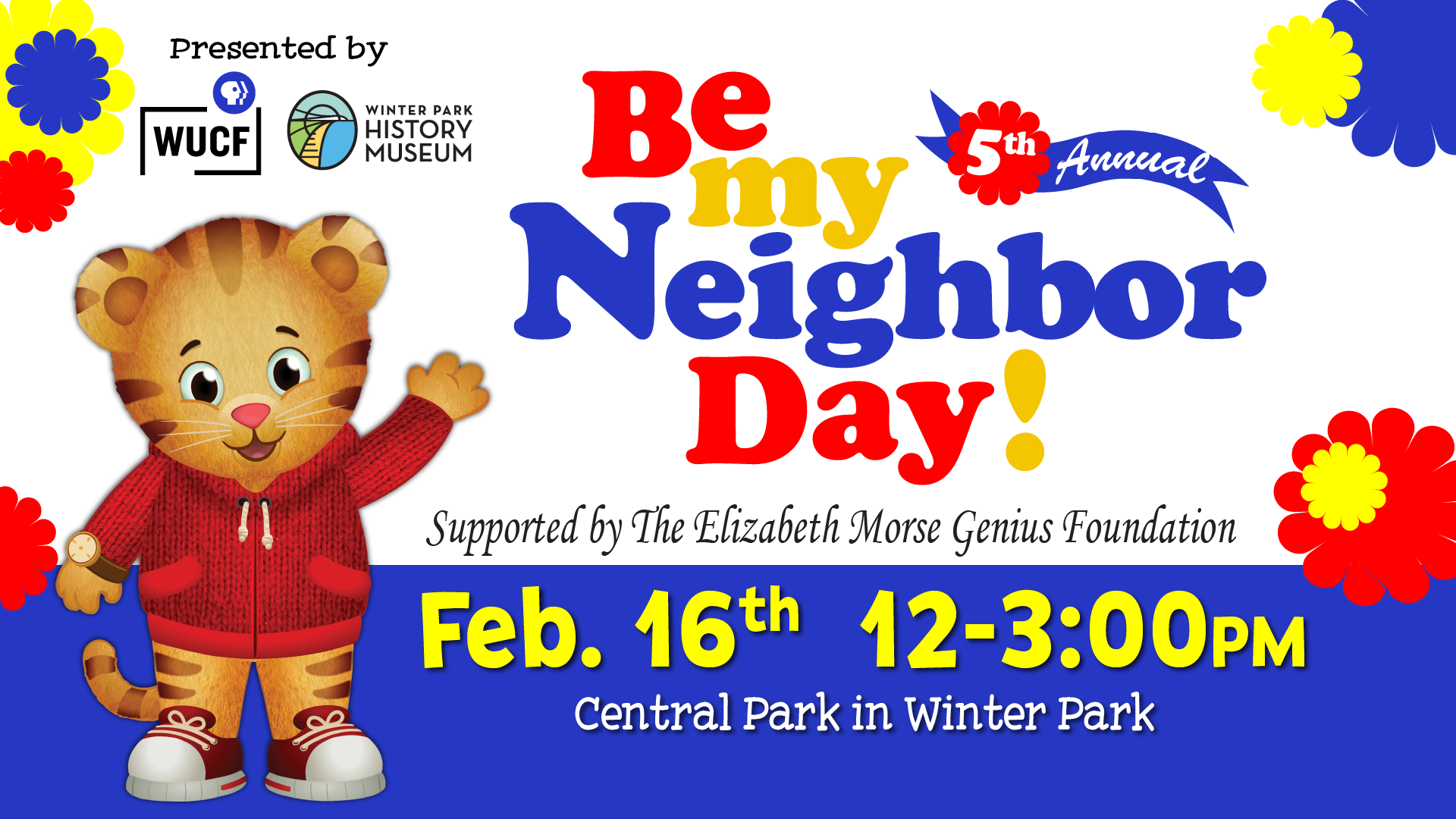 WUCF's Be My Neighbor Day in Winter Park