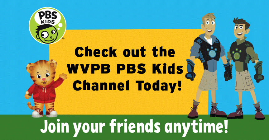 WVPB PBS Kids. 24/7 Educational TV