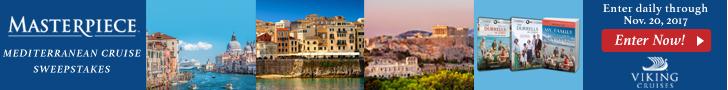 Masterpiece Mediterranean Cruise Sweepstakes